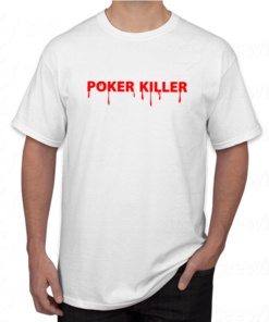 T-shirt poker killer ,tee shirt personnalisé poker killer en Tunisie