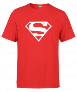 T-shirt super man, tee shirt personnalisé super man en Tunisie