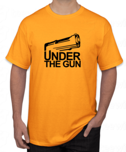 Tshirt under the gun ,tee shirt personnalisé under the gun en Tunisie