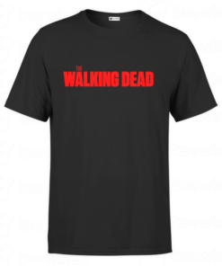 T-shirt the walking dead, tee shirt personnalisé T-shirt the walking dead en Tunisie