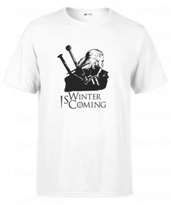 shirt winter is coming v2, tee shirt personnalisé T-shirt winter is coming en Tunisie