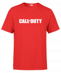 T-shirt T-shirt call of duty logo, tee shirt personnalisé T-shirt call of duty logo en Tunisie
