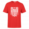 T-shirt attack on titan symbol, tee shirt personnalisé T-shirt attack on titan symbol en Tunisie