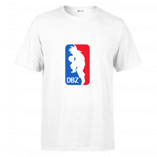 T-shirt dragon ball z NBA, tee shirt personnalisé T-shirt dragon ball z NBA en Tunisie
