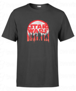 T-shirt Best Crew star wars, tee shirt personnalisé T-shirt Best Crew star wars Tunisie