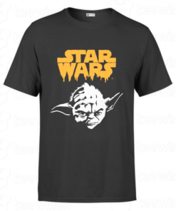 T-shirt star wars Yoda Halloween, tee shirt personnalisé T-shirt star wars Yoda Halloween Tunisie