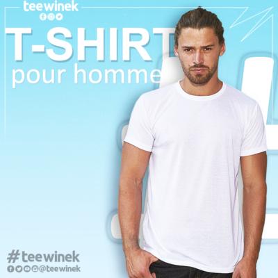 T-shirt pour homme personnalisé
