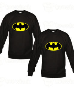 Sweat-shirts Couple Batman, Sweat-shirts personnalisé Pour couple en Tunisie