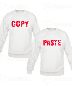 Sweat-shirts Couple copy and paste, Sweat-shirts personnalisé Pour couple en Tunisie